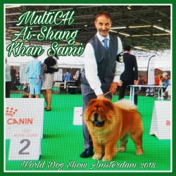 World Dog Show in Amsterdam